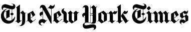This famous headlines that we see in newspapers use the font Old English. Old English is seen in The New York Times and The Los Angeles Times. Old english is a Blackletter type. http://typoface.blogspot.com/2008/10/newspaper-titles-what-on-earth-is-this.html