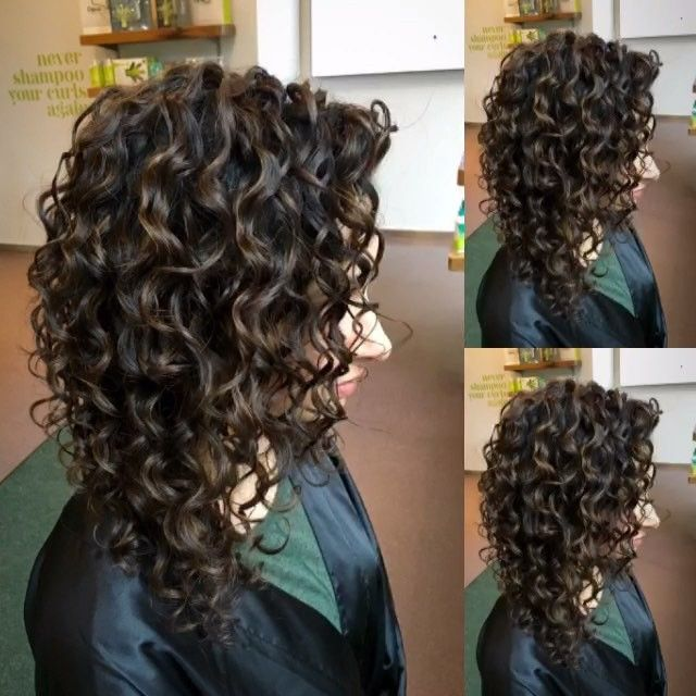 Image result for inverted bob long curly hair pictures ...