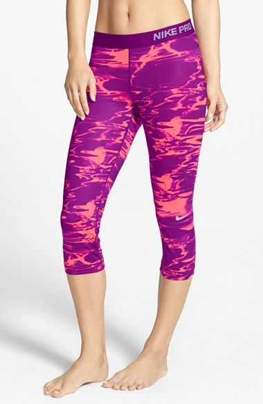 Nike Pro Core - Pool Dri-FIT Compression Capris available at Nordstrom