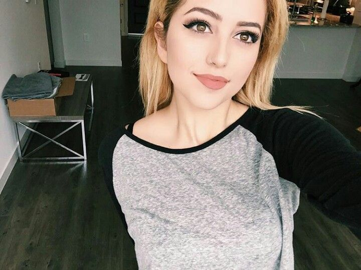 Lycia faith blonde makeup vine viner