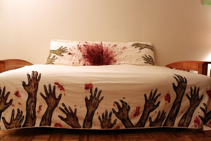 Zombie bed sheets