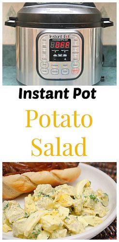 Instant Pot Potato Salad is a classic summer side dish that can be made so easily in the instant pot. Let me show you how!