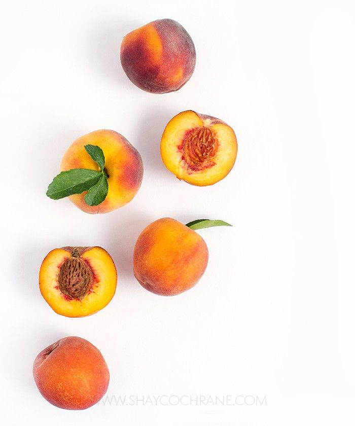Prop styling, product styling, and photography by Shay Cochrane | www.shaycochrane.com  fruit, peaches, summer, food photography, sweet, peach, branding, website photography, SC Stockshop, Shay Cochrane