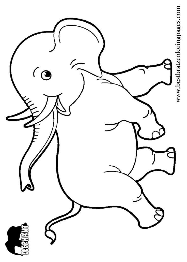 24 best y Blank Pattern Elephants