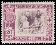 Spain 1926 Red Cross Express unmounted mint.