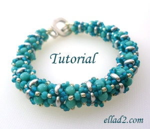 Tutorial Babiole Bracelet pattern on Craftsy.com