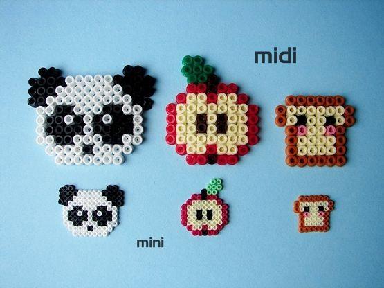 DIYs with Mini Hama Beads. Does Perler make mini beads?