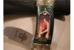 Franklin mint collectors knife Bruce lee edition