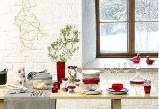 Couldn't get into Noma for your holiday fete? Bring Scandinavian style to your own setting with dinnerware and decor that borrows inspiration from the Nordic peninsula. Give the neutral look an updated spin with pops of vivid red and glistening gold for a space that's layered and eye-catching.http://www.allmodern.com/deals-and-design-ideas/Christmas-in-Copenhagen~E15552.html?refid=SBP.rBAZEVRRl4Fuvma7c4tTAldM4sIdCkCIp1uwOCNlPxk