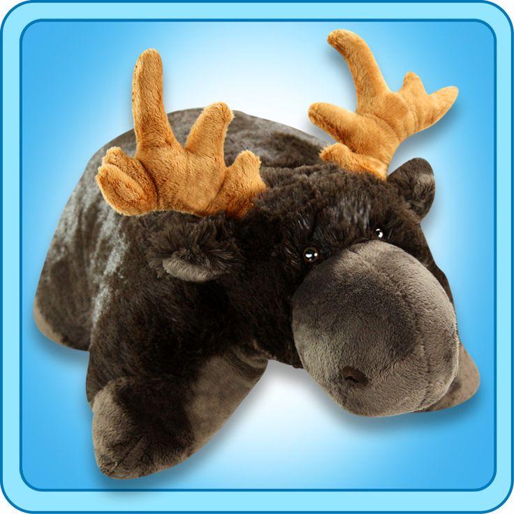 PeeWee Chocolate Moose | My Pillow Pets® Canada