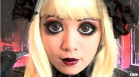doll costume ideas, doll makeup, rag doll make up ideas, rag doll makeup, doll eyes makeup, halloween doll makeup, broken doll makeup,scary doll makeup, porcelain doll makeup, doll makeup halloween, doll makeup look