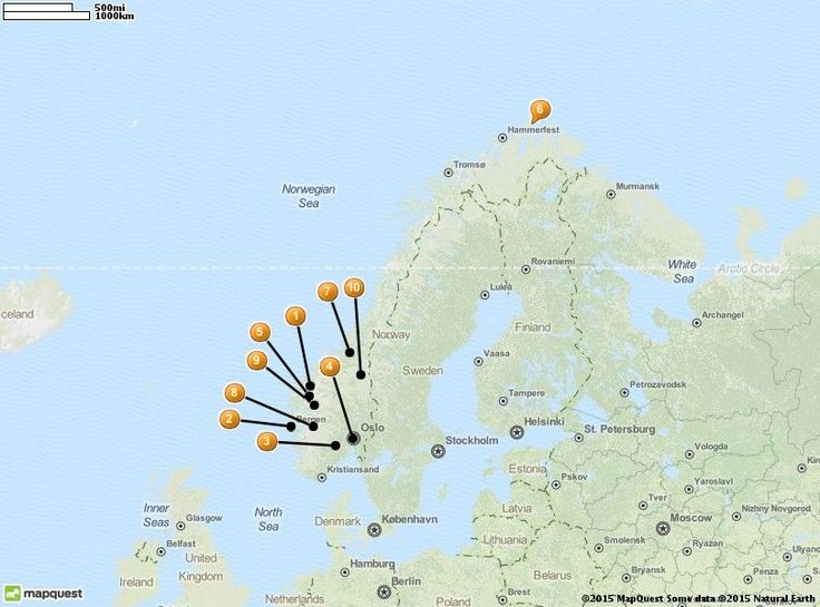 The Best Norway Tourist Attractions Ideas On Pinterest - Mapquest norway