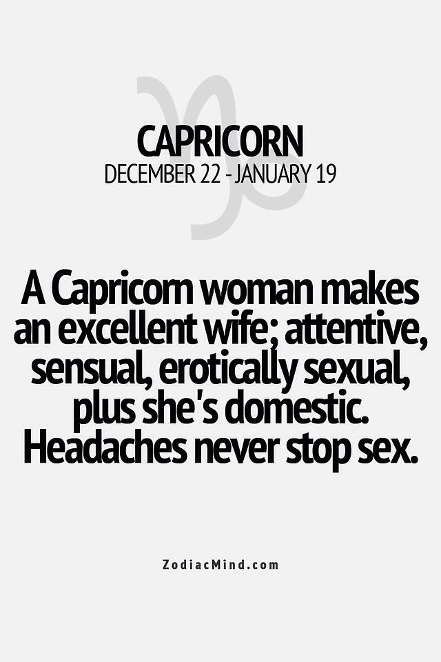 Best dating a capricorn woman