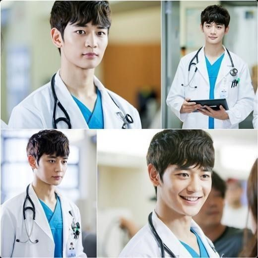 Minho is now playing the role of a doctor in the drama Medical Top Team. He is such a dreamy doctor. X)