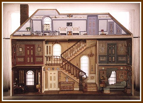 """The Bank's House in """"Mary Poppins""""!!  """"Anything Can Happen If You Let It"""" chronicles Mary Poppins' journey from page to stage"""