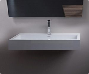 Bathroom Sinks Made In Usa 19 best wall-mounted stone resin sinks images on pinterest | resin