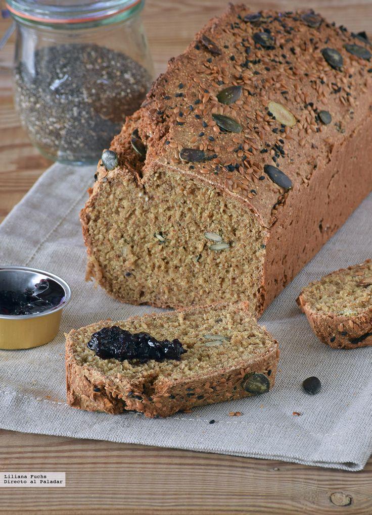 A pesar de mi fama de golosa hay un alimento al que me costaría horrores renunciar cada día: el pan. Pan de verdad, a ser posible un poco rústico y con mezcl...