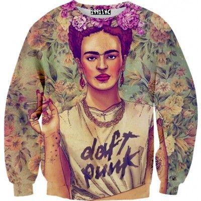 ♡ Frida Daft Punk Sweater ✞☆