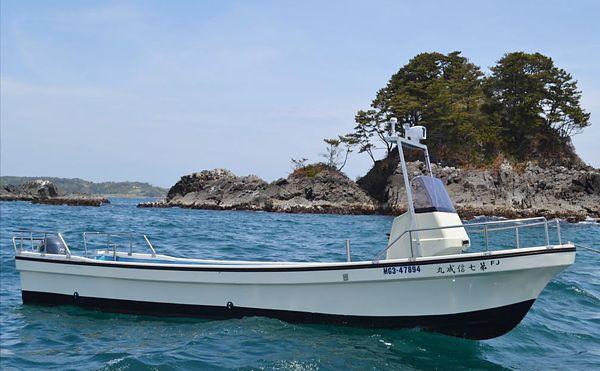 漁家民宿やすらぎ(新館) - 第7 信成丸:定員11名 対象魚:カレイ・ヒラメ・五目・その他