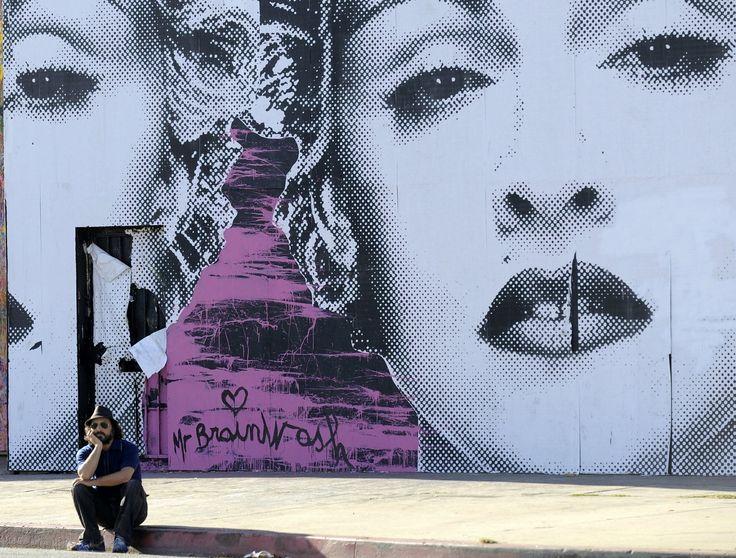 50 best mr brainwash images on pinterest mr brainwash for Mural by mr brainwash