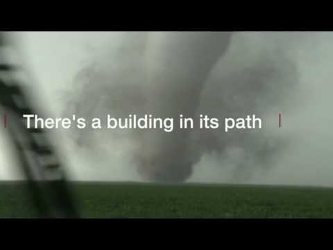 Storm chasers film Kansas tornados