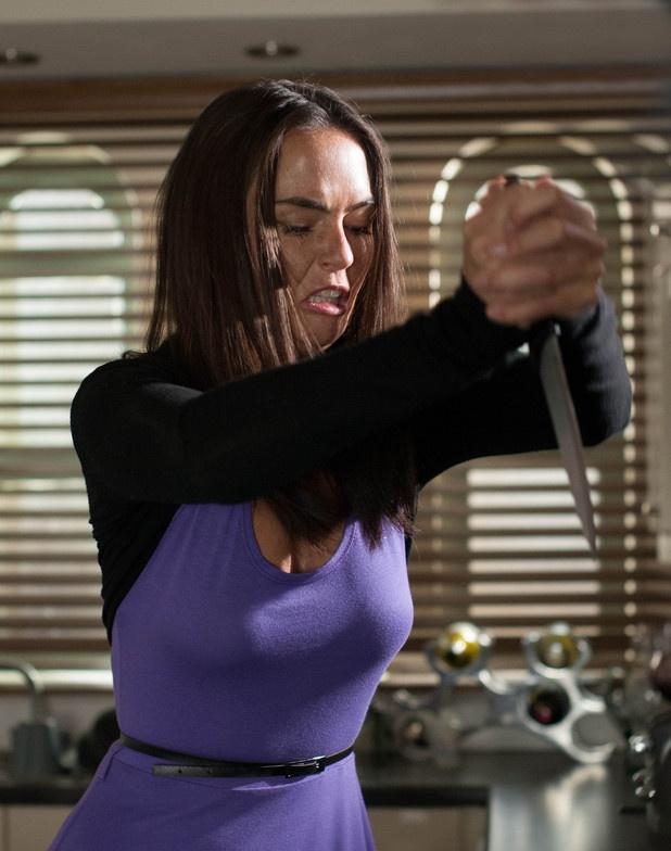 Exclusive: 'Hollyoaks' Jennifer Metcalfe talks Mercedes stabbing aftermath.
