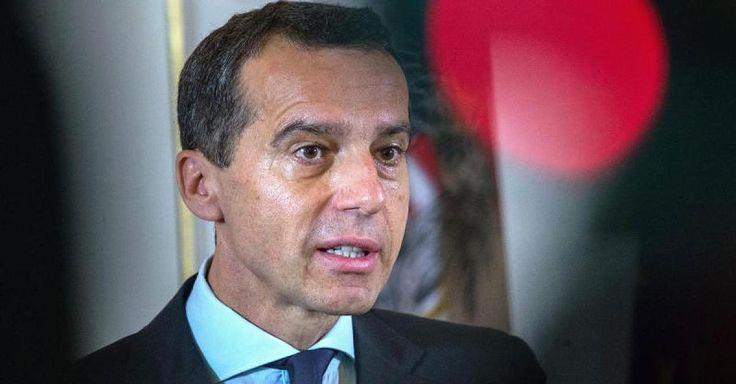 """Zurück zum """"Kontinent der Hoffnung"""" - Österreichs Kanzler fordert Kurswechsel in der europäischen Wirtschaftspolitik - http://ift.tt/2cx2Vi8"""