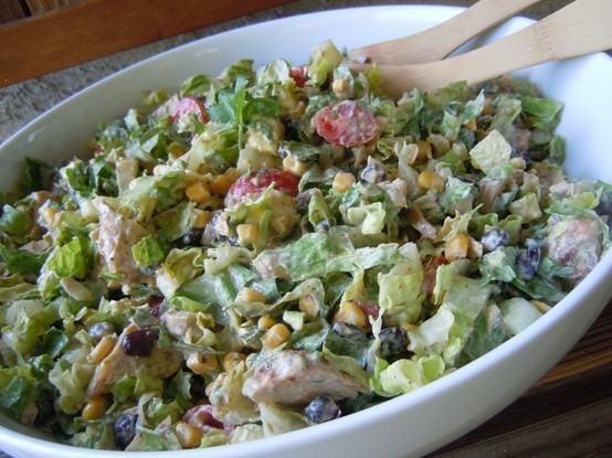 chipotle chicken taco salad Sounds Yum-O!!