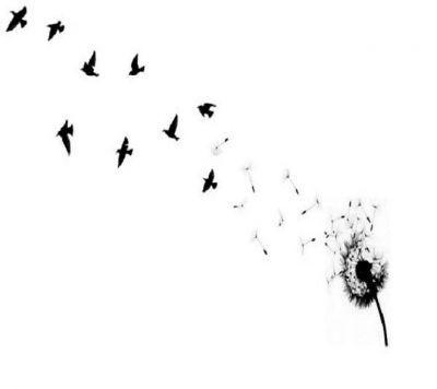 Blowing dandelion clip art - photo#13