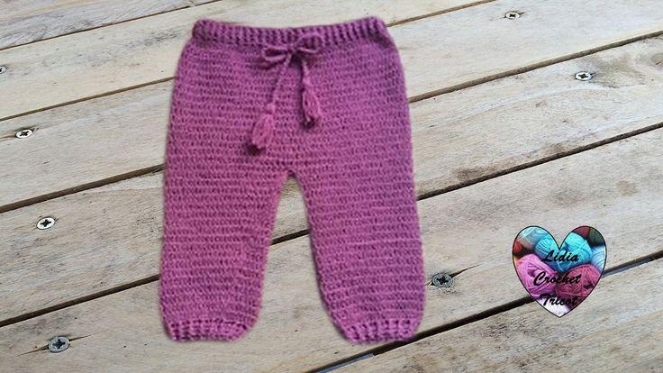 Pantalon bébé crochet / Pantalon bebe a crochet facil