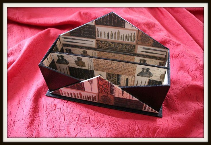 porte courrier mes cr ations en cartonnage pinterest. Black Bedroom Furniture Sets. Home Design Ideas