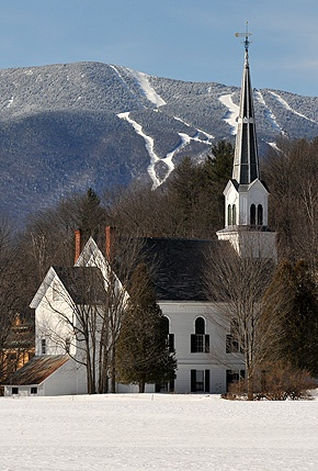 Waitsfield, Vermont -- I was married in this lovely town ...