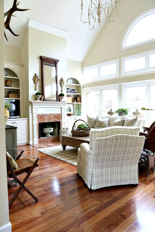 Chair Swapping And More In The Great Room Living Rooms Pinterest Chairs Southern Style