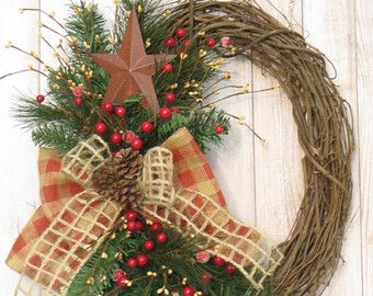 Christmas Wreath Cardinal Wreath Holiday Wreath by Dazzlement