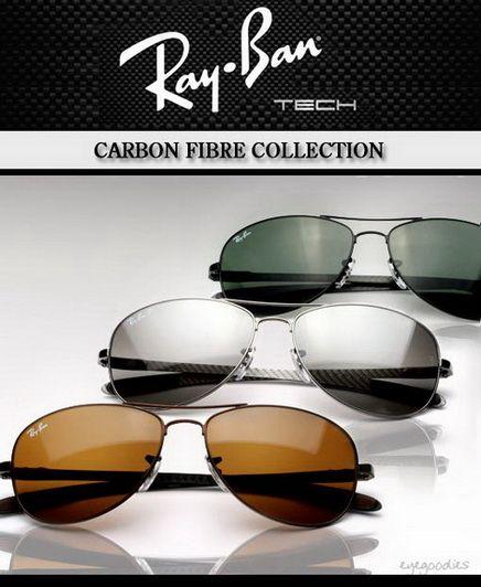 Ray Ban Carbon Fiber Collection