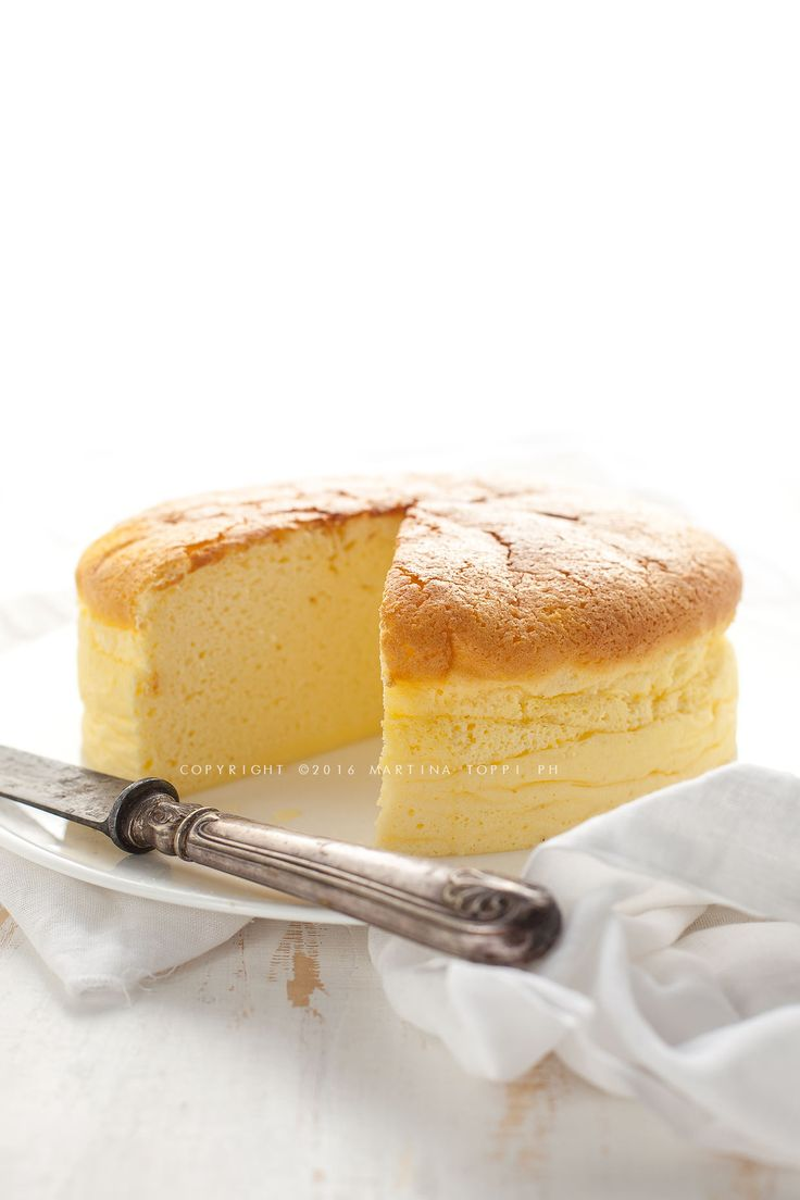 Japanese cheesecake o cotton cheesecake
