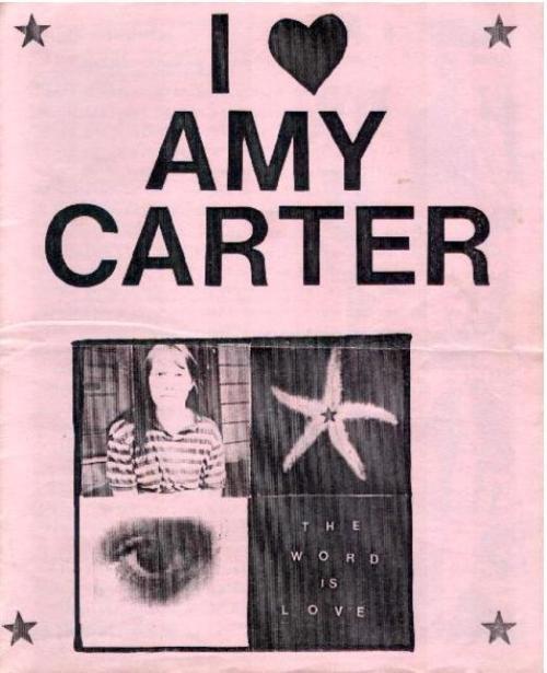 I (heart) Amy Carter