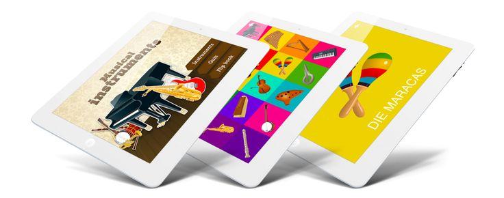 Les instruments de musique, jeu pédagogique pour enfants (iPhone, iPad, Mac)