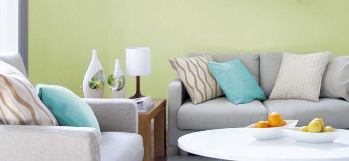 Dulux 2016 Colour Trends Pastel Sage Interior Color