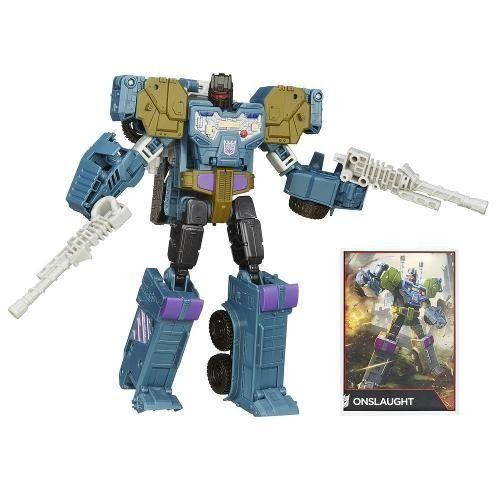 Boneco Transformers Combiner Wars - Onslaught - Hasbro