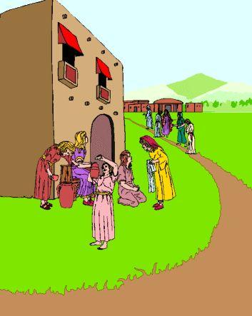 Sunday School Craft Wise Foolish Bridesmaids Virgins