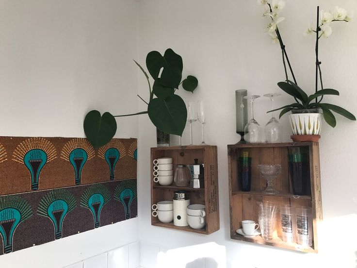 Best Küchen Inspiration Images On Pinterest Live Apartment Holz Wandregal  Multiunktional Genutzt