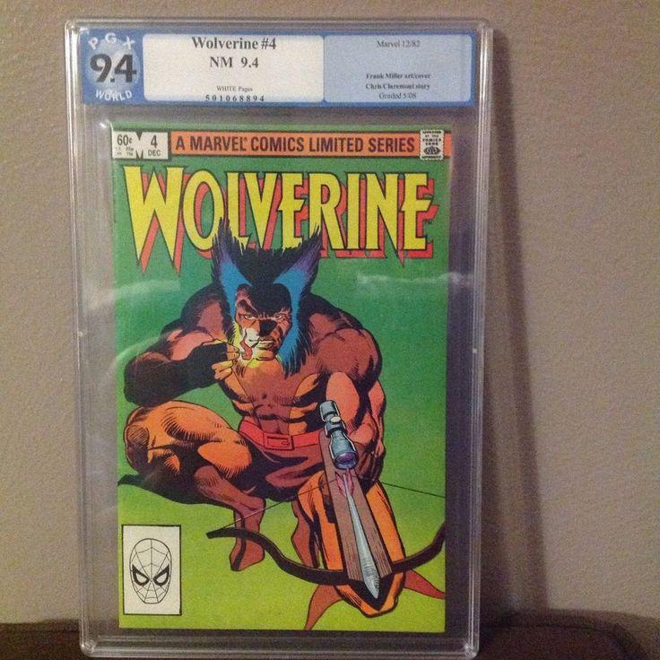 Marvel Wolverine Comic 1982 limited Edition PGX 9.4 (501068894) Death of Shingen