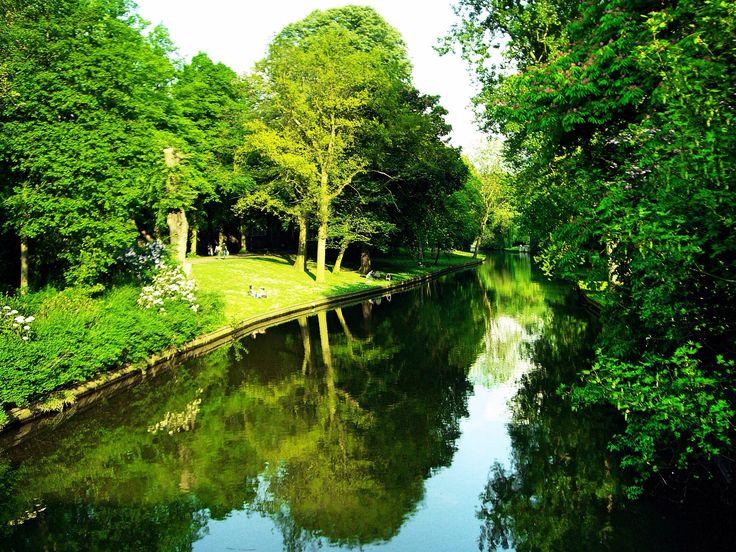 Koning Albert I Park (Brugge - Belgium)