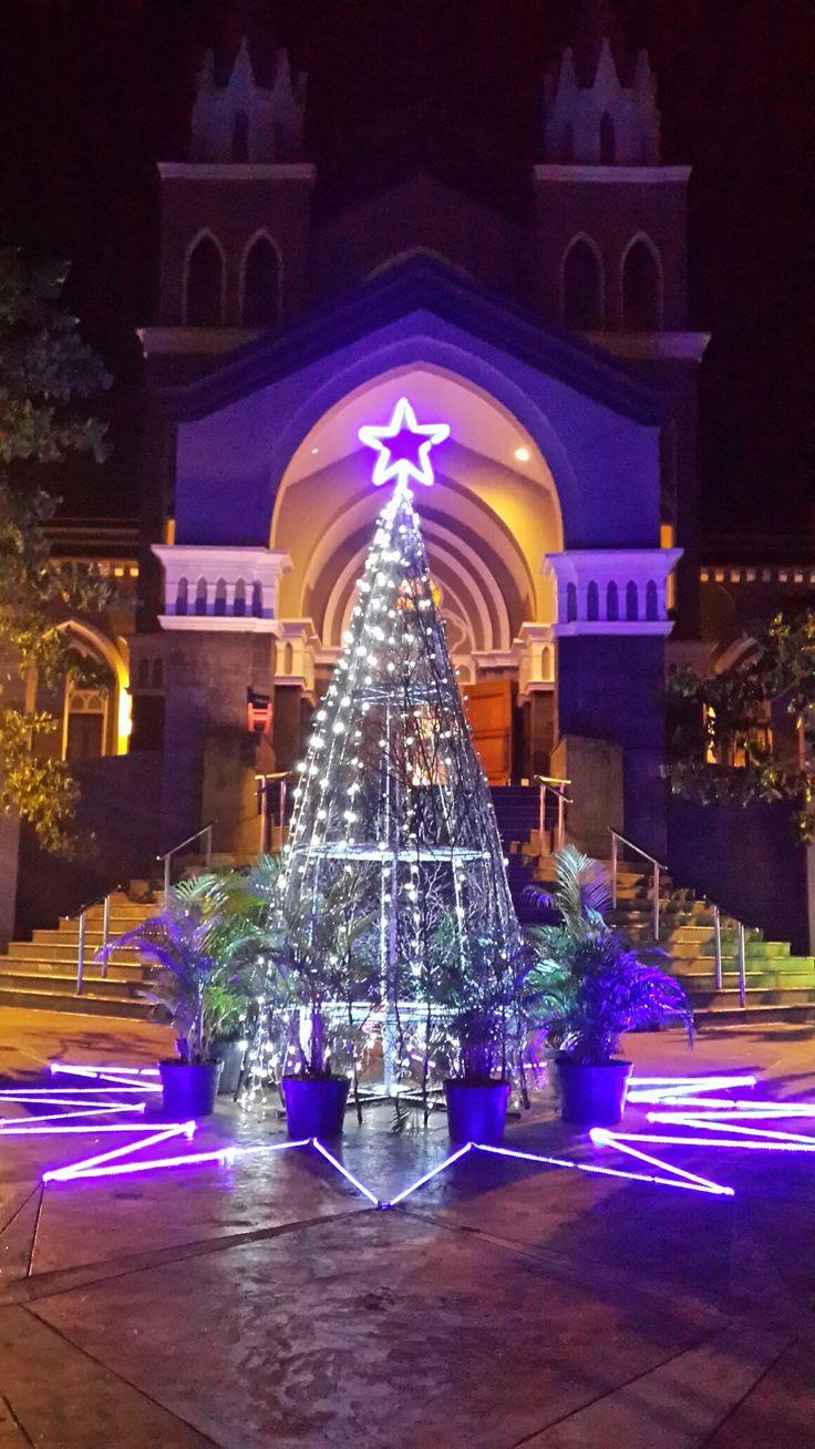 Christmass tree @ Paroki St. Laurensius Alam Sutera