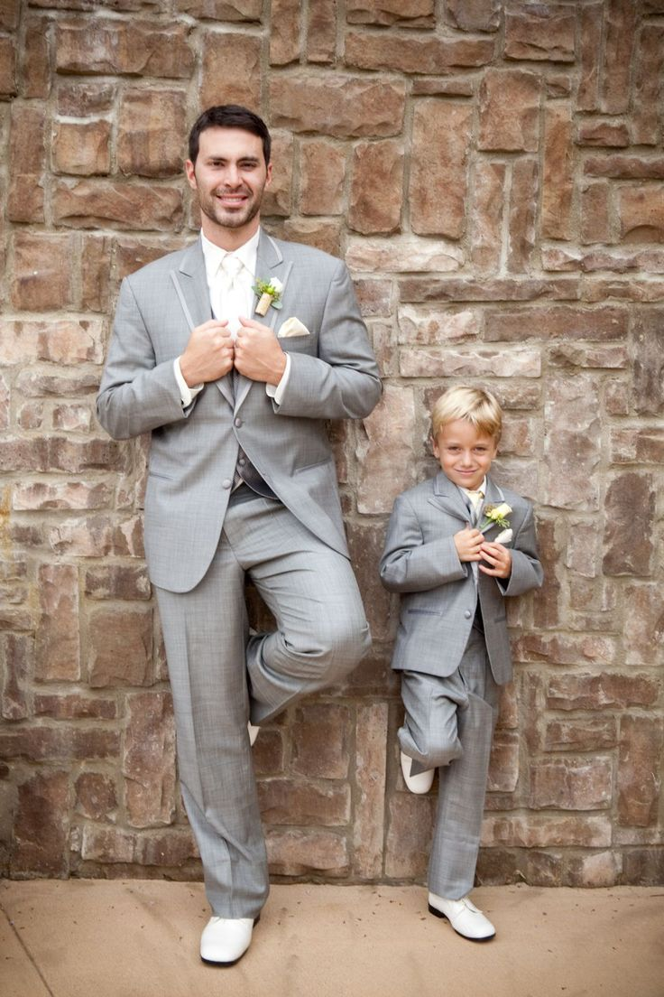 Ring Bearer and Groom at Potomac Point Winery