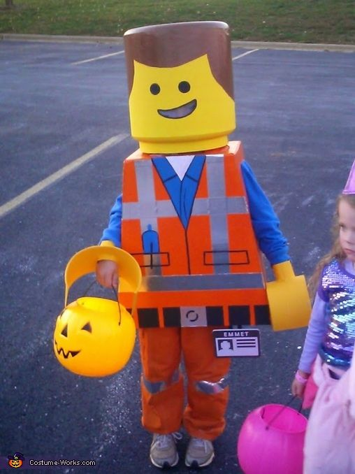 Lego Movie Emmet - Halloween Costume Contest via @costume_works