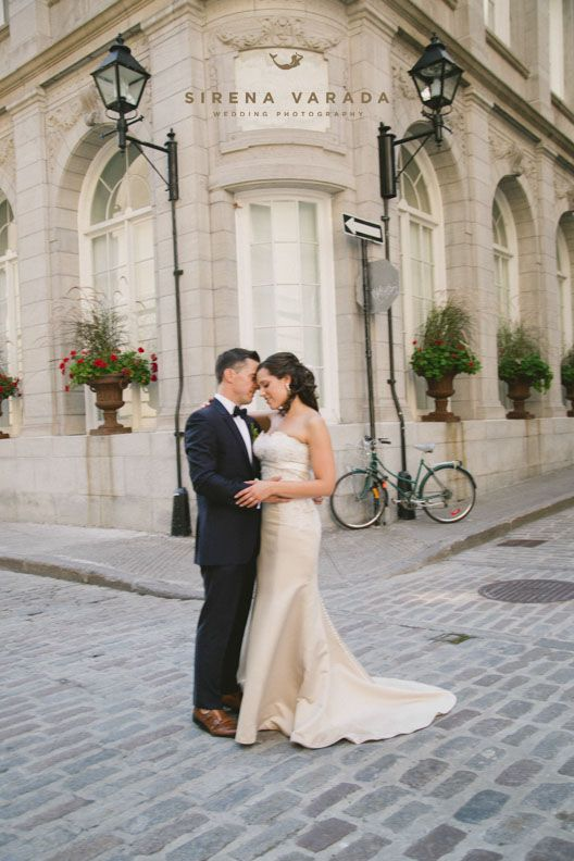 Couple at Old Port Montreal by Sirena Varada Montreal Wedding Photography