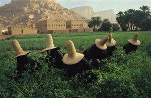Sanaa quirks and straw hats of Kawkaban