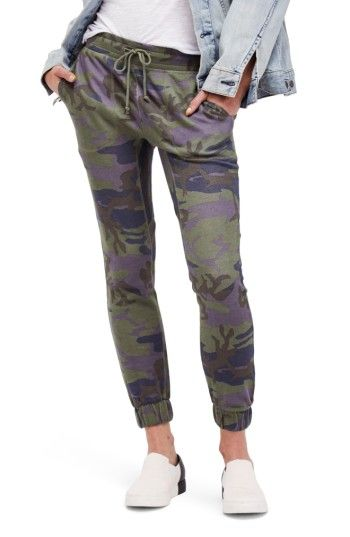Free shipping and returns on Free People Camo Jogger Pants at Nordstrom.com. Stay cozy and look cute in skinny joggers made rugged in a faded camo motif.